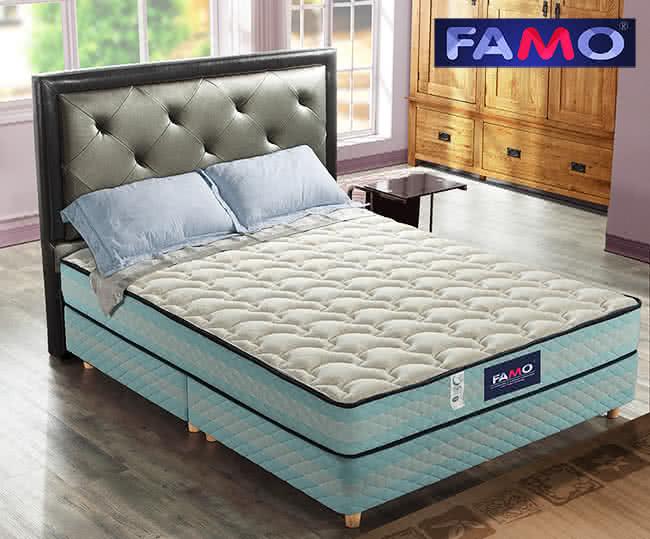 【FAMO】二線〔康柔〕獨立筒床墊(針織+羊毛+記憶膠麵包床),床墊,獨立筒,FAMO,麵包床,雙人床墊,乳膠墊,保潔墊