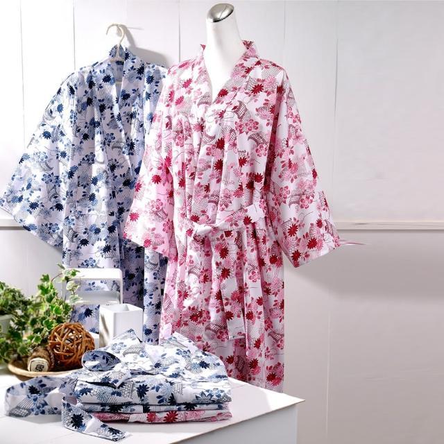 《伊豆》日式和風睡浴袍 (1入)