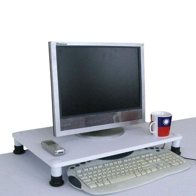 【美佳居】40公分x60公分-桌上型置物架(素雅白色)