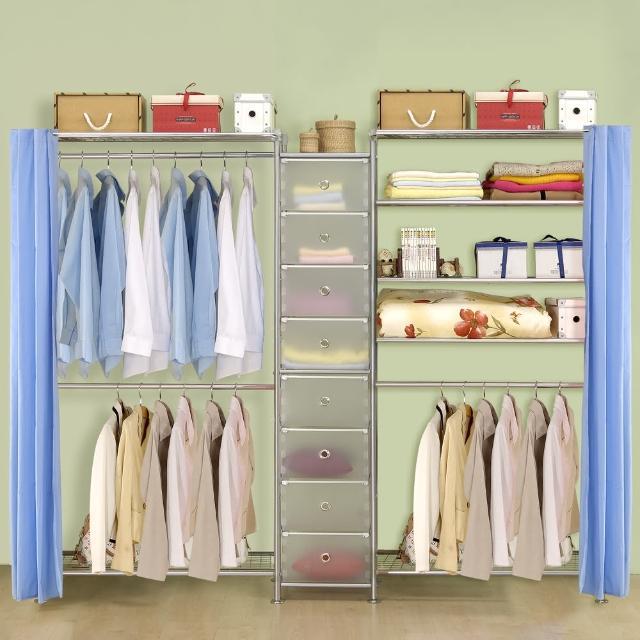 【巴塞隆納】W2型90+D+W5型90衣櫥置物櫃