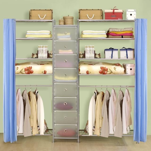 【巴塞隆納】W5型60+D+W5型90衣櫥置物櫃
