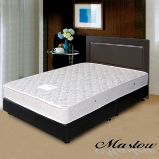 (Maslow-貴族胡桃)單人床組-3.5尺(不含床墊)