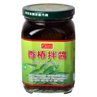 【康健生機】香椿拌醬(380g)