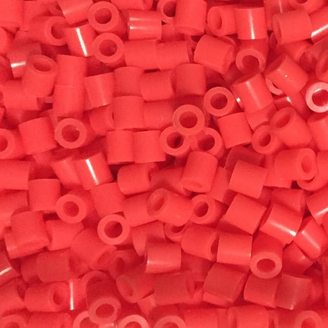 《Perler 拼拼豆豆》1000顆單色補充包-59珊瑚紅