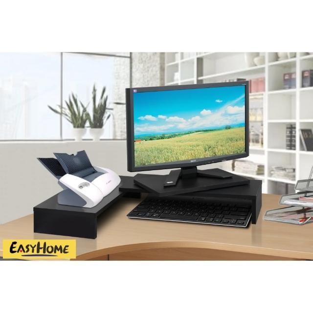 【EASY HOME】可伸縮旋轉式防水桌上型置物(兩色可選)