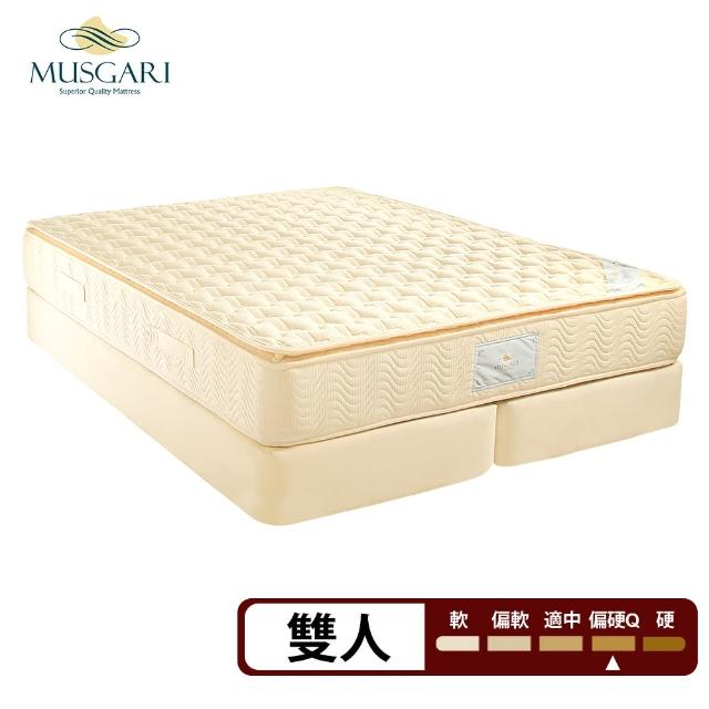 【MUSGARI瑪格麗】米西亞 乳膠 獨立筒 彈簧上墊-雙人5尺(送緹花對枕)