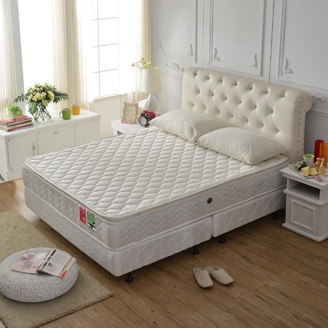 【睡芝寶-正三線-乳膠-蜂巢式獨立筒床墊厚24cm-VIP限定-加大】