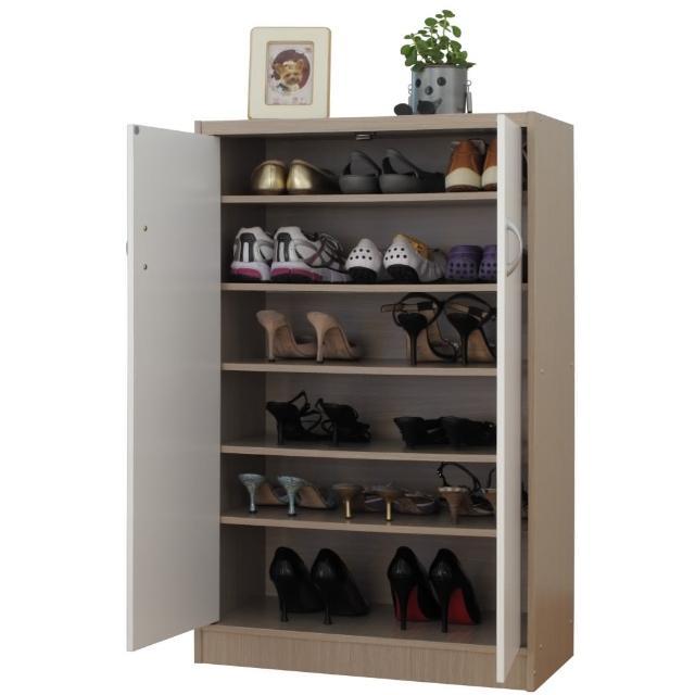【EASY HOME】秋香雙門六層鞋櫃-收納櫃