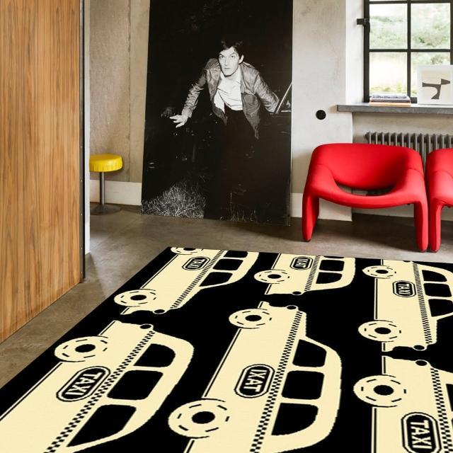 【范登伯格】布雷特☆新生代時尚地毯-噗噗車(160x225cm)