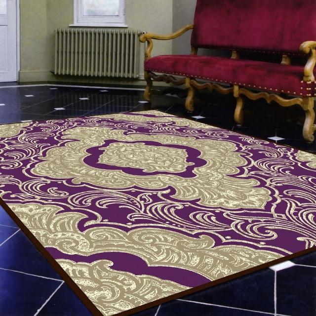 【范登伯格】卡里☆頂級立體雕花絲質地毯-羅漾-共兩色(150x230cm)