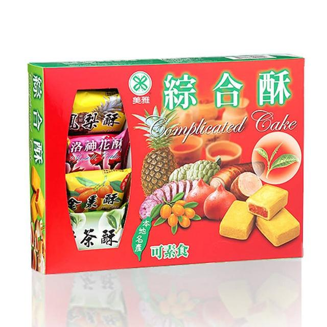 【美雅宜蘭餅】綜合酥3盒