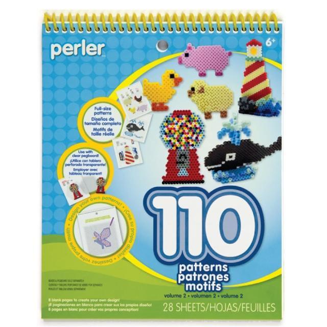 【Perler 拼拼豆豆】一比一造型圖案創意拼豆書(第二彈)