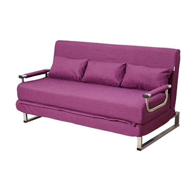 【伊登沙發床】『清新綠森林』機能雙人沙發床-椅