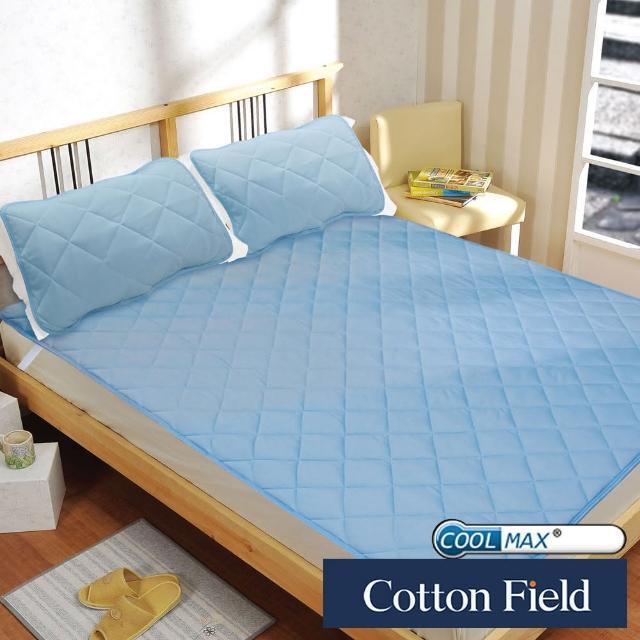 【快速到貨-棉花田】COOLMAX 科技纖維吸濕排汗機能性保潔墊(雙人)