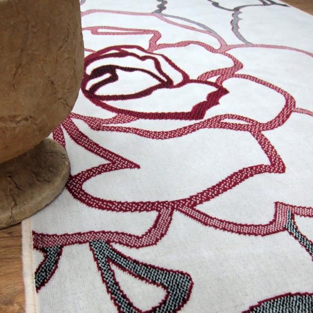 【范登伯格】夏蔓柔光絲質感地毯-玫瑰粉(140x200cm)