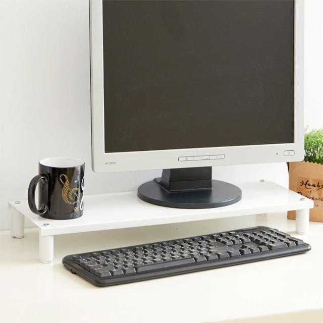 【ikloo宜酷屋】省空間桌上螢幕架-鍵盤架1入(4色可選)