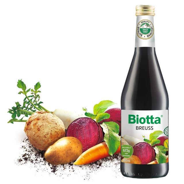 【Biotta《百奧維他》】魯道夫布魯士有機根莖蔬菜純汁(500mlx6瓶)