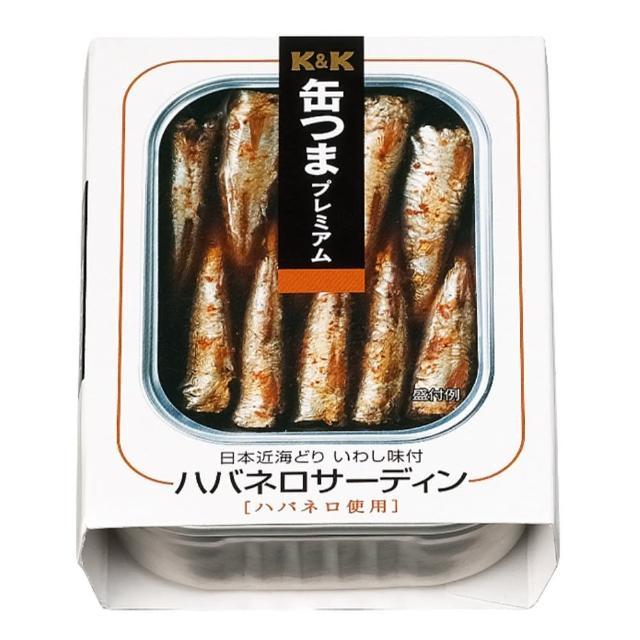 【K&K】墨西哥辣椒醬沙丁魚(105g)