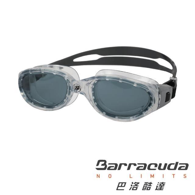 【美國巴洛酷達Barracuda】青少年競技泳鏡-MANTA#13520(廣角 競技 蛙鏡)