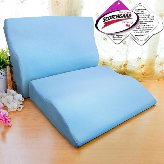 【快速到貨】LooCa吸濕排汗專利護肩柔頸枕(2入)
