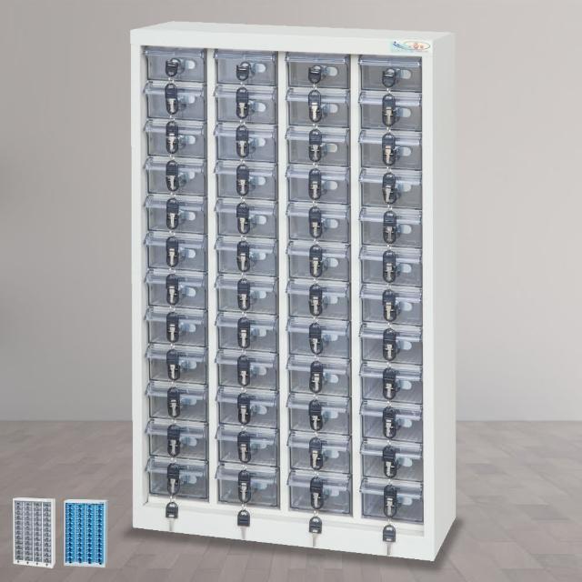 【時尚屋】DF精密零件櫃48格 透明-不透明盒(RU5-DF-MP-48)