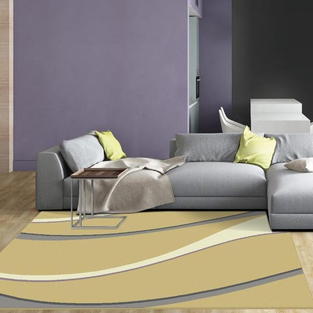 【范登伯格】艾斯 簡約風進口地毯-曲線(160x230cm)