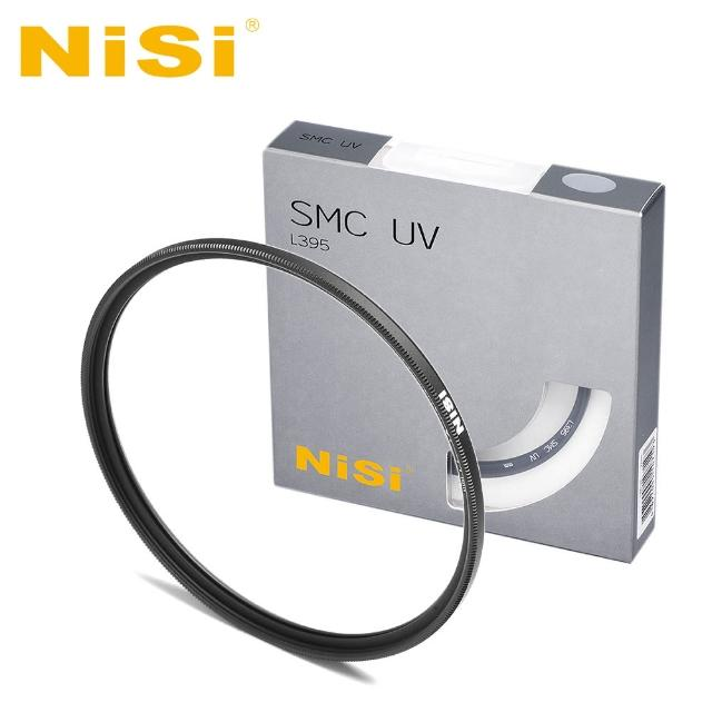 【NiSi 耐司】SMC L395 43mm 多層鍍膜超薄框UV鏡(疏油疏水)
