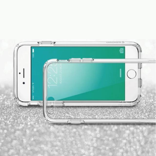 【Apple】iPhone 6 Plus-6s Plus 高質感雙料材質(透明TPU+PC手機殼-保護套)