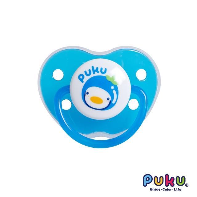 【PUKU藍色企鵝】水果拇指型初生安撫奶嘴(藍色)