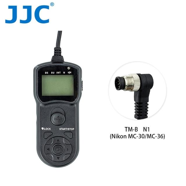 【JJC】TM-B 液晶定時快門線 N1(Nikon MC-30-MC-36)