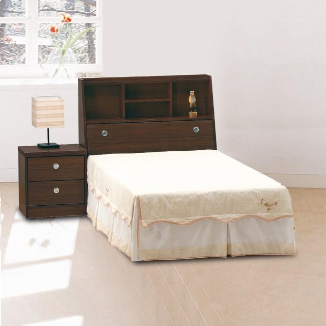 【時尚屋】無敵木心板3.5尺加大單人床5U6-41-13+02351二色可選(加大單人床  床架  臥室)