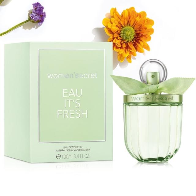 【WOMEN SECRET】EAU IT S FRESH 花漾清新女性淡香水(100ml)