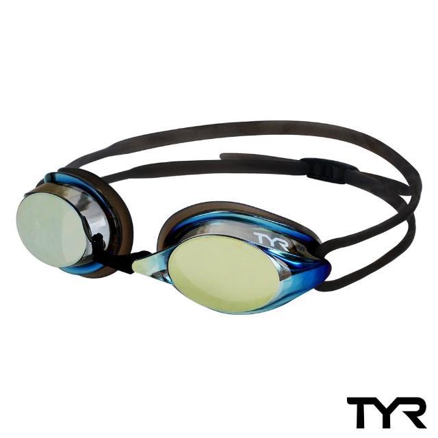 【美國TYR】成人用競速電鍍泳鏡 Velocity Metallised(台灣總代理)