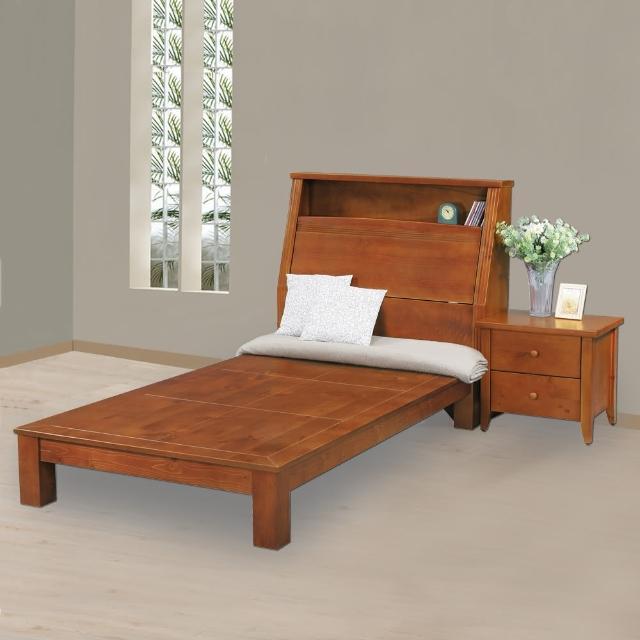 【時尚屋】克莉絲3.5尺床箱型加大單人床(G17-A073-5+A073-6)