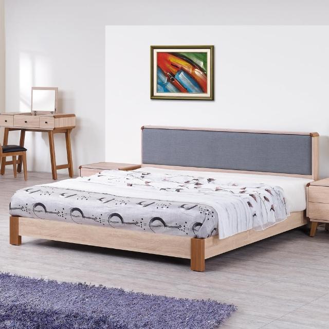 【時尚屋】柏克5尺床片型雙人床(G17-A019-2)
