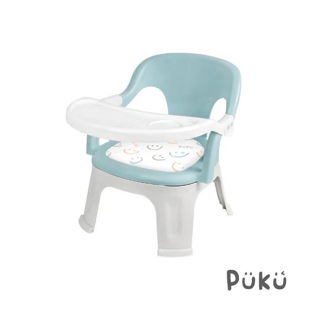 【PUKU藍色企鵝】Crocodile小鱷魚餐盤BB椅(綠色)