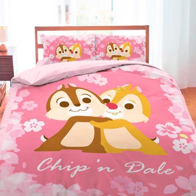 【享夢城堡】雙人四件式床包薄被套組-拉拉熊 輕鬆過生活(米黃)
