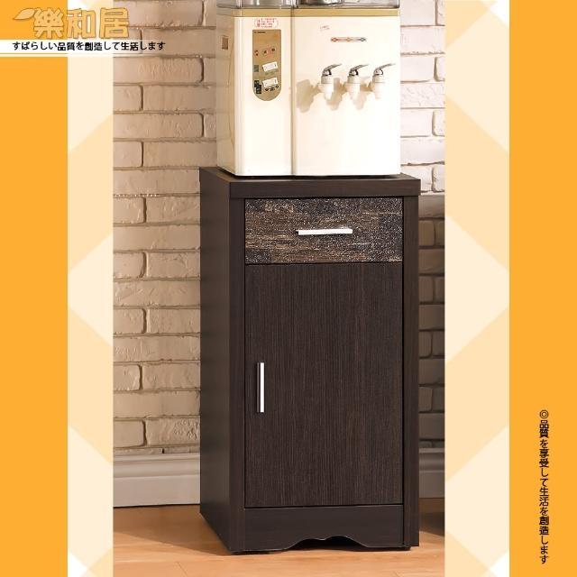 【樂和居】古拉德仿古風黑檀1.5尺碗盤櫃