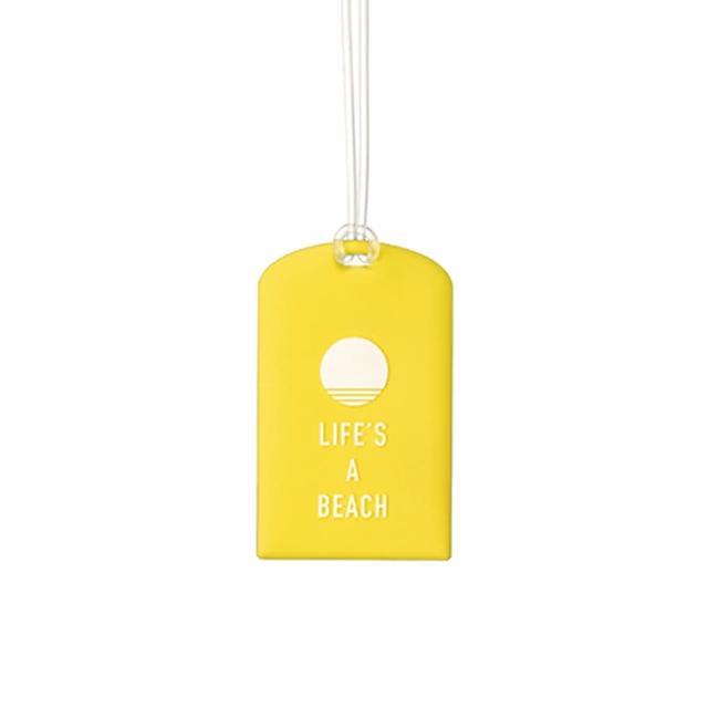 【Go Travel】Glo 行李吊牌兩件組-黃色氣球