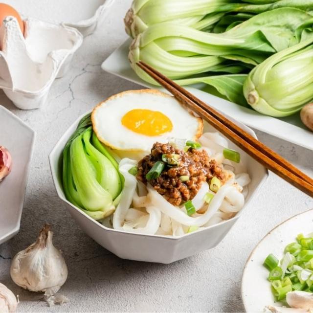 【栗園米食】粄條組合-任選6組(肉燥-炸醬-干貝-泰式-沙茶-口味任選)