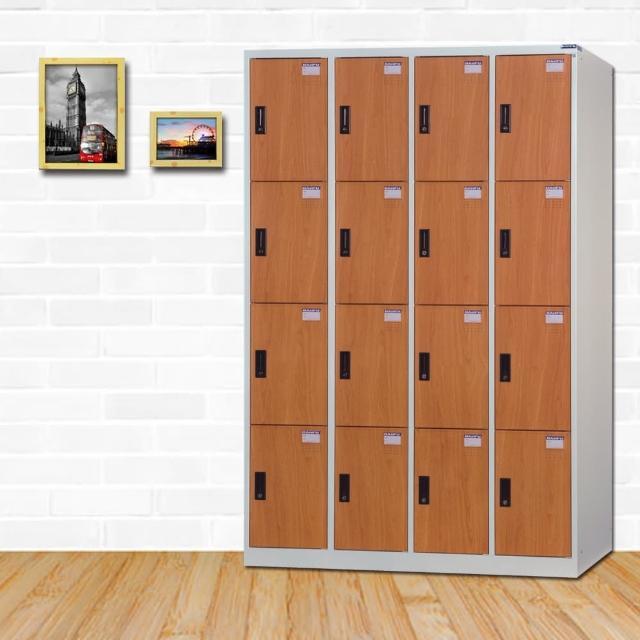 【時尚屋】皮爾斯多用途塑鋼製16格置物櫃 RU6-KL-5016FF免運費(置物櫃)