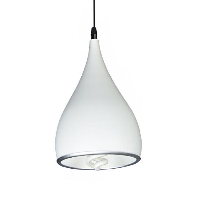 【華燈市】SPINNING復刻白色單燈吊燈(臥室-客廳-餐廳)