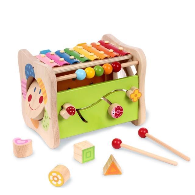 boby波比 木質多功能益智遊戲玩具台