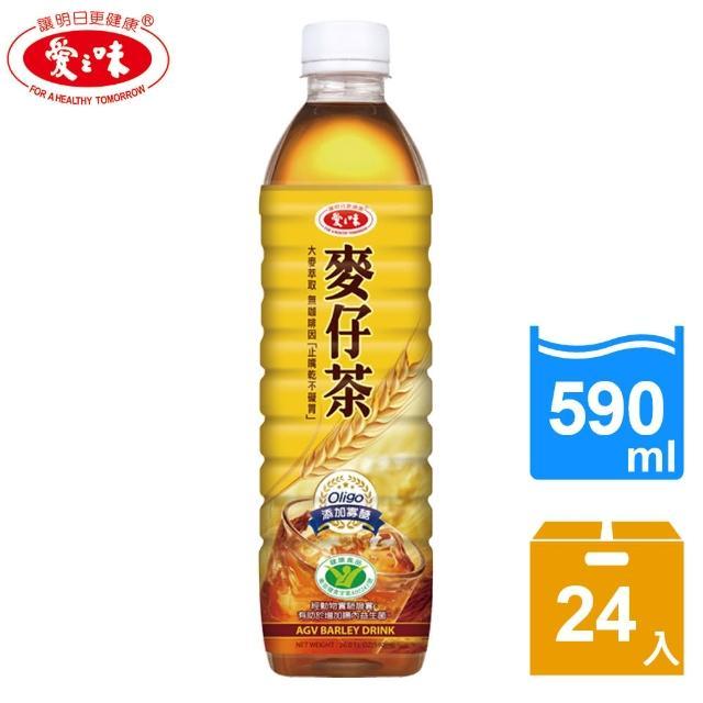 【愛之味】麥仔茶590mlx24入(國家健康食品認證)