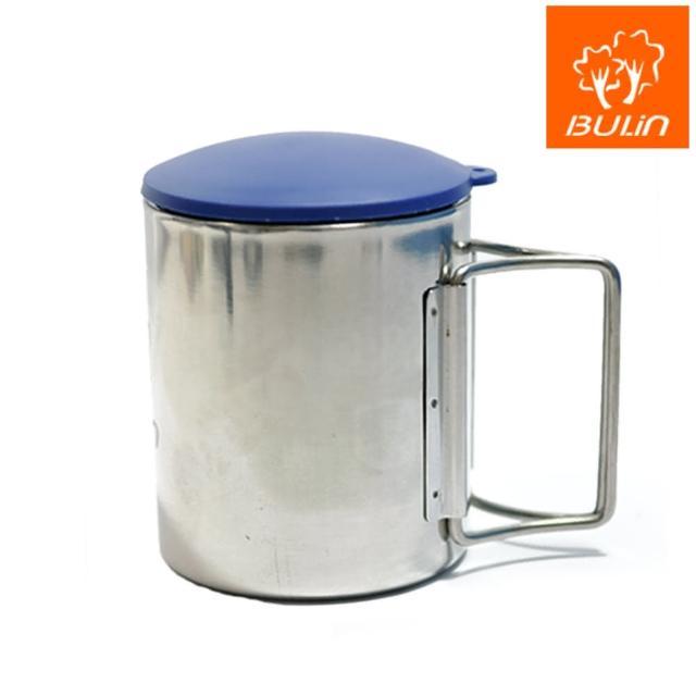 【步林BULIN】環保攜帶式不鏽鋼杯-露營杯-野營杯(小)