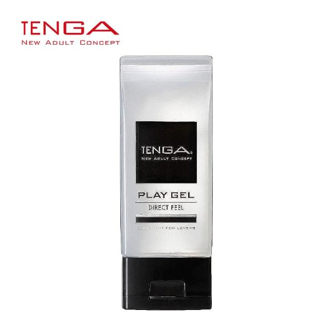 【日本TENGA】TPG-103 PLAY GEL-DIRECT FEEL 黏著刺激型潤滑液150ml(黑)