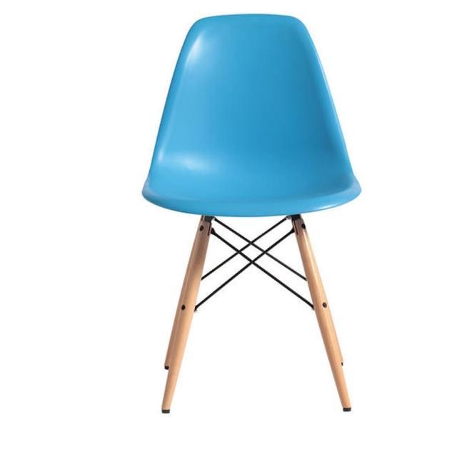 【ONE 生活】亞伯造型椅(藍-粉紅-黃-黑)