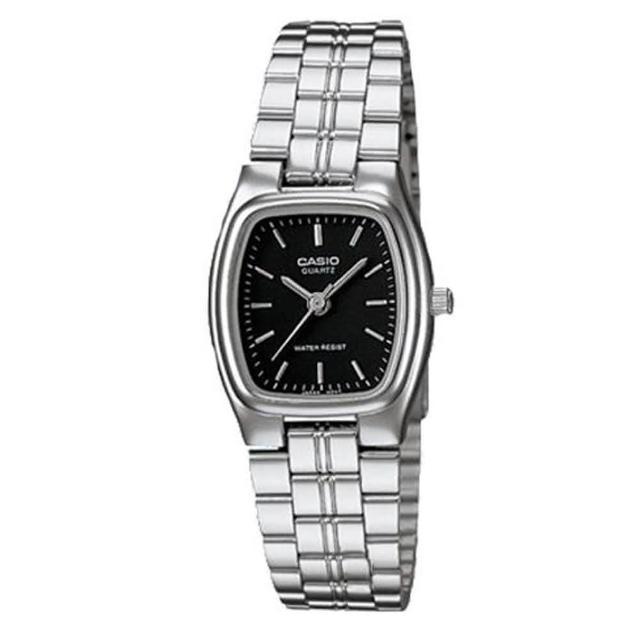 【CASIO】秀麗婉約酒桶型指針腕錶(LTP-1169D-1A)