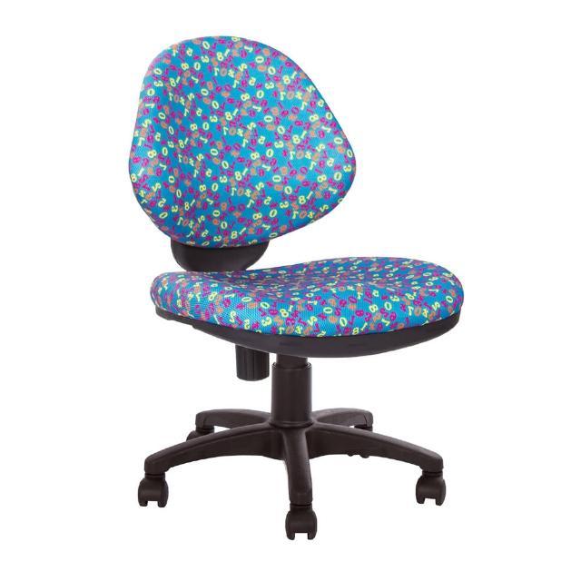【GXG】兒童數字 電腦椅 TW-098D(無踏圈款)