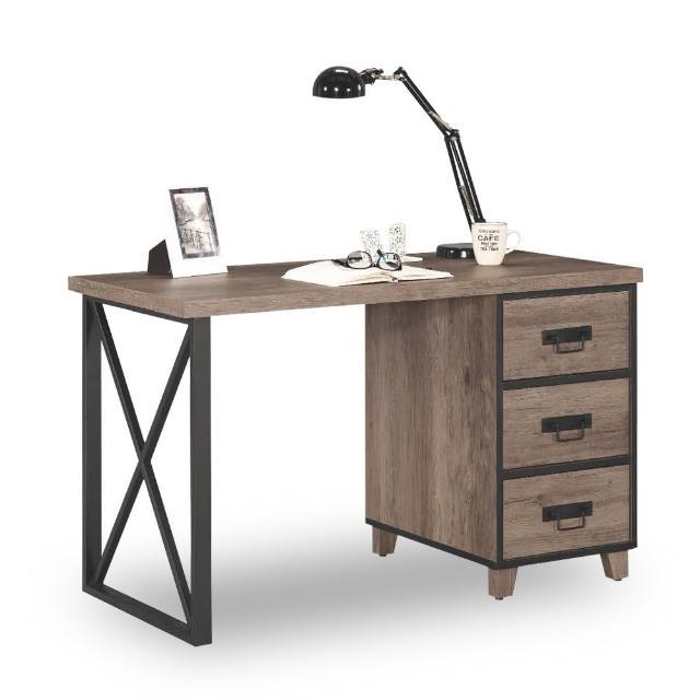 【時尚屋】哈麥德4尺書桌 C7-865-1(免運費 免組裝 書桌)